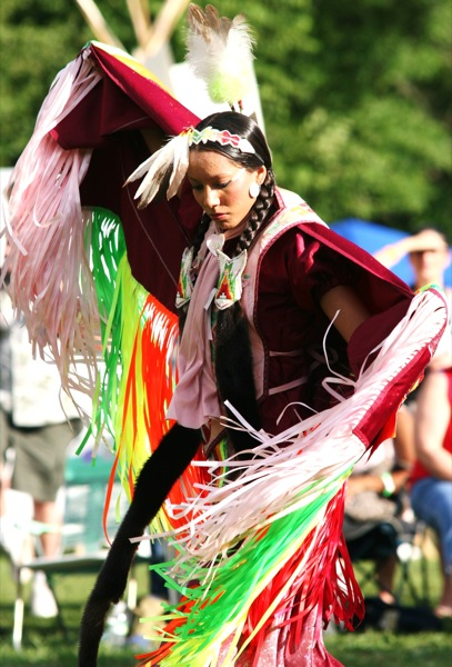 The Red Hawk Native American dancers come to the Morristown Green on July 24.