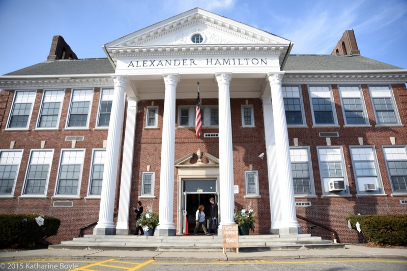 The Alexander Hamilton School, new home of the Morris County Winter Farmers Market. Photo by Katharine Boyle.