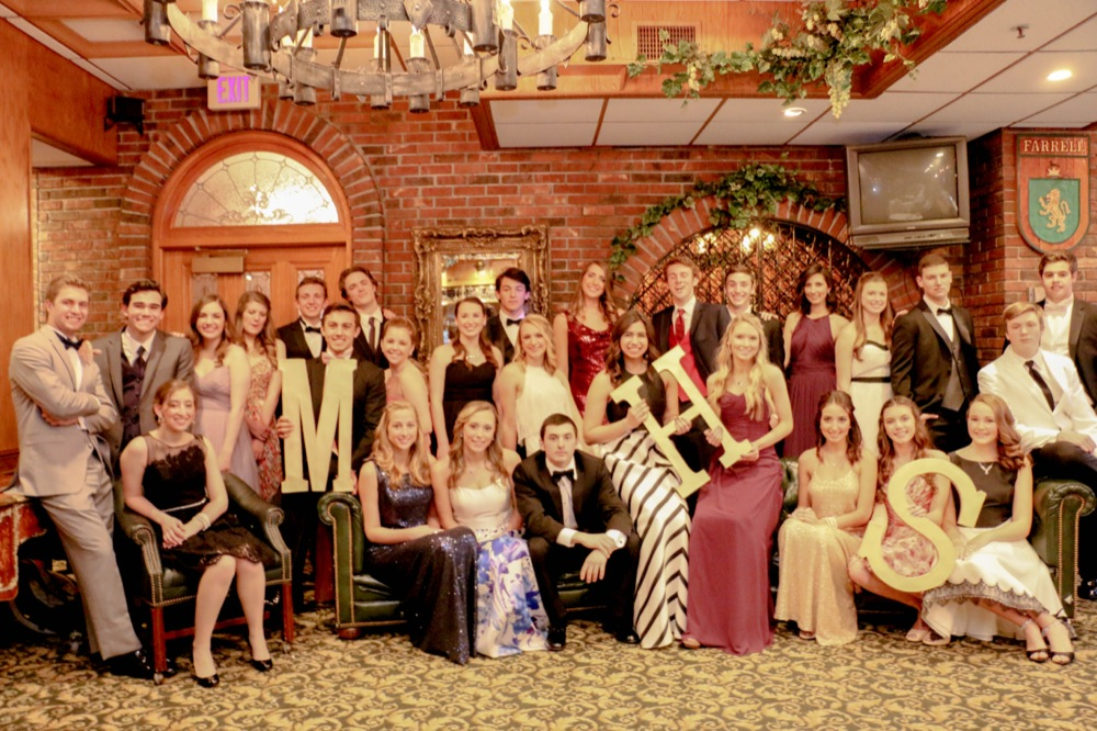 Morristown High Class of '16 models for 'An Evening in Venice.' Photo by Penny Lopez