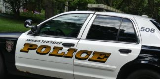 morris township police car logo file photo