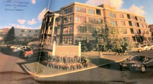 Rendering of The Regency, a luxury apartment complex proposed for the Madison Hotel parking lot in Morris Township. Photo by Lee Goldberg